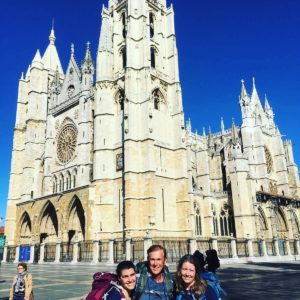 The new camino family makes it to León